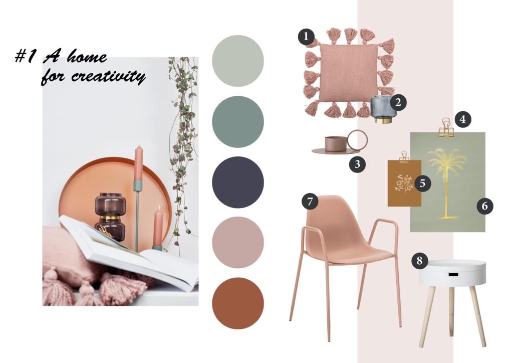 Kleur van het jaar home for creativity villa madelief