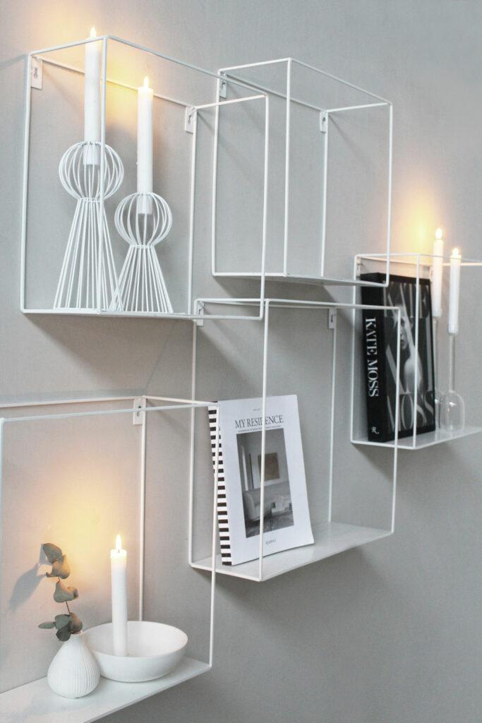 zweeds design planken met accessoires