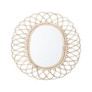 rieten spiegel bloomingville villa madelief