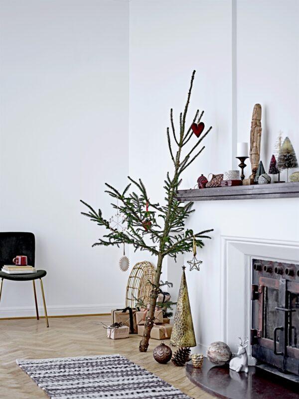 Bloomingville papieren kersthanger Villa Madelief