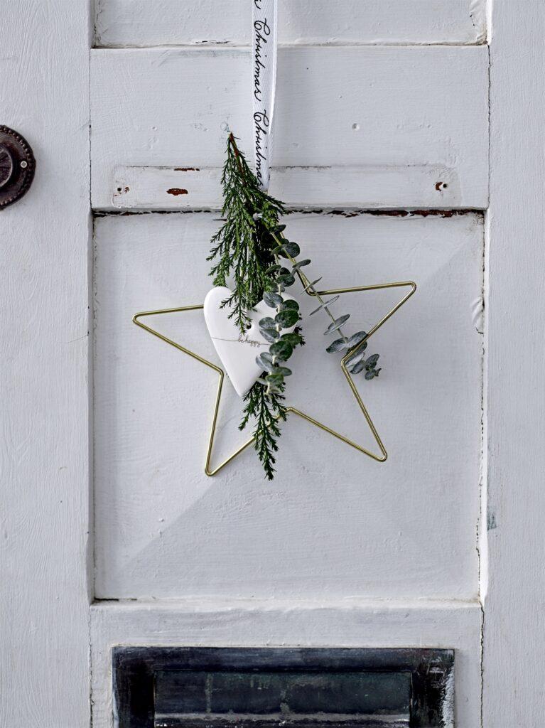 bloomingville kerstster goud