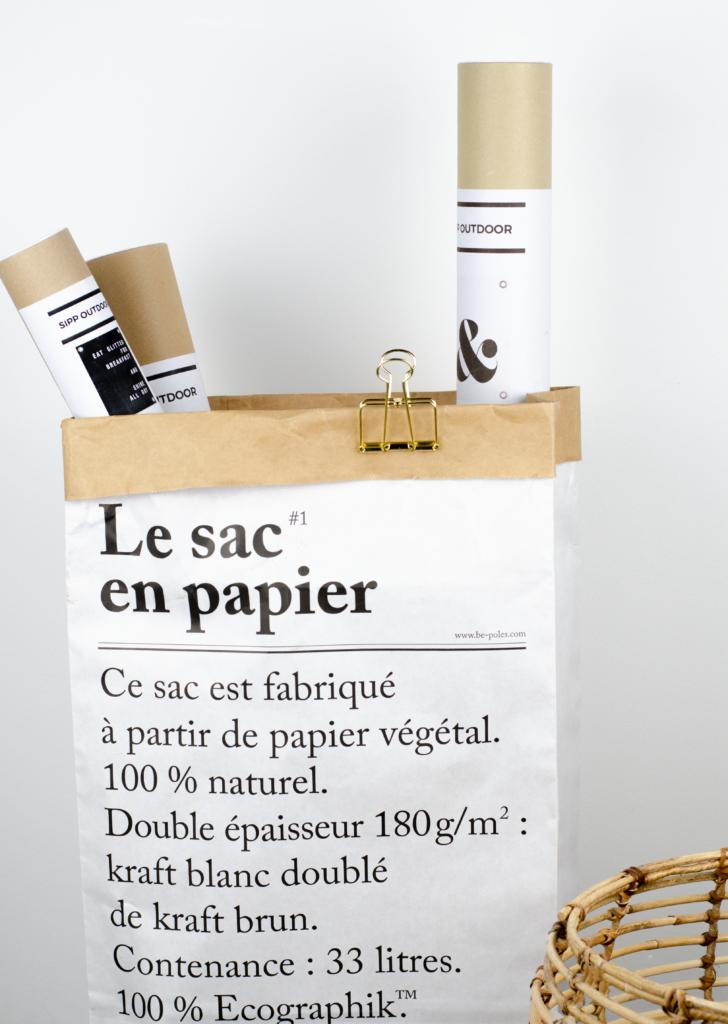 le sac en papier decoratie villa madelief