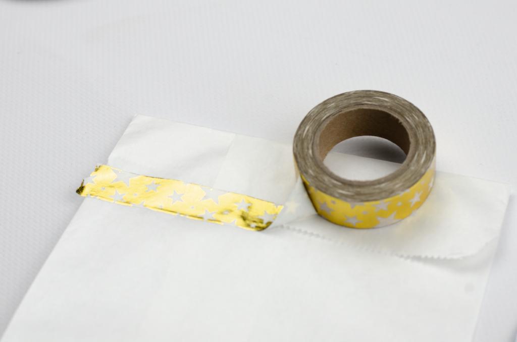 villa madelief uitdeelzakjes masking tape