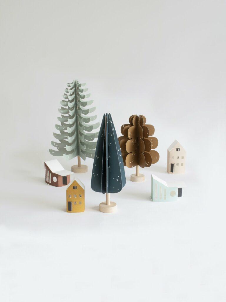Jurianne Matter DIY boompjes en huisjes
