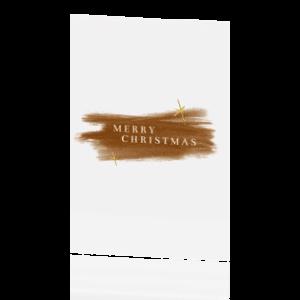 Huis van Mijn kerstkaart Merry Christmas wit Villa Madelief