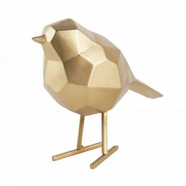 Present Time vogel goud Villa Madelief