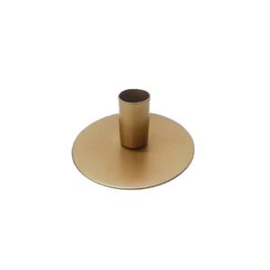 Kandelaar goud buis 4,5cm