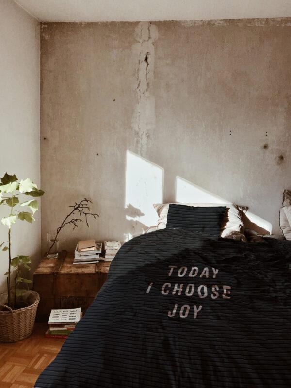 Dekbedovertrek today I choose joy