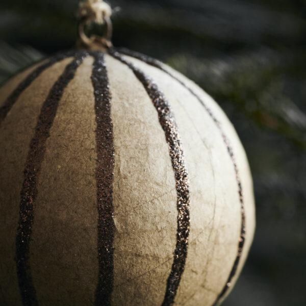 House Doctor set van 3 kerstballen