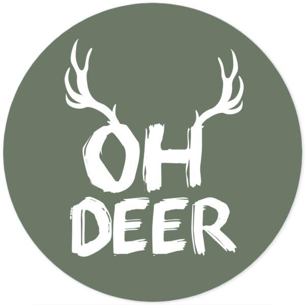 Muursticker oh deer