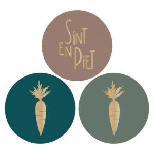 Sint & Piet stickers