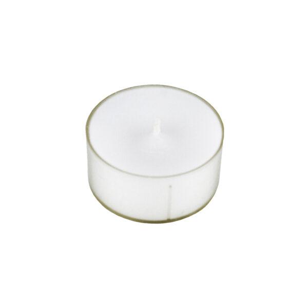Waxinelichtjes wit groot