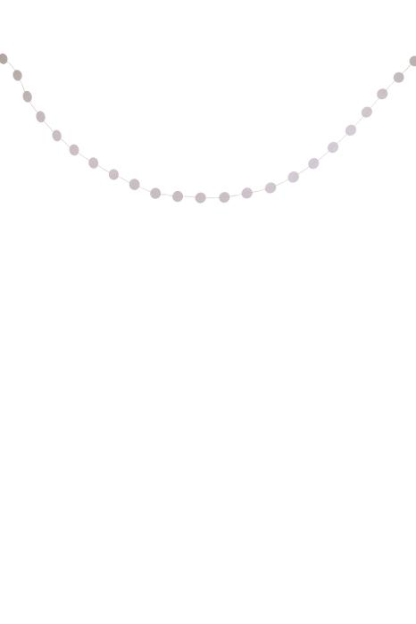 Zusss slinger rond grijs