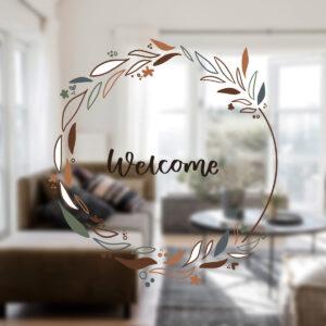 Villa Madelief raamstick welcome