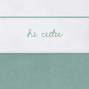 Laken hi cutie groen