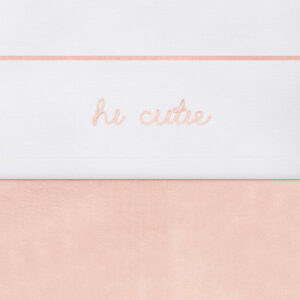 Laken hi cutie roze
