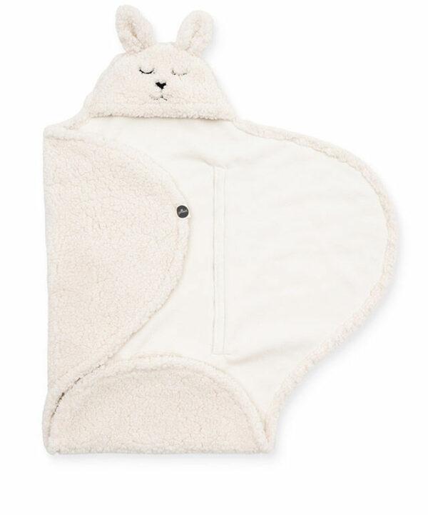 Wikkeldeken konijn off-white