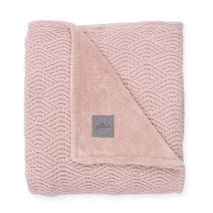 Wiegdeken roze fleece