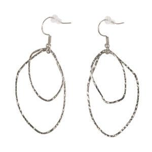 Zusss oorbellen zilveren hangers