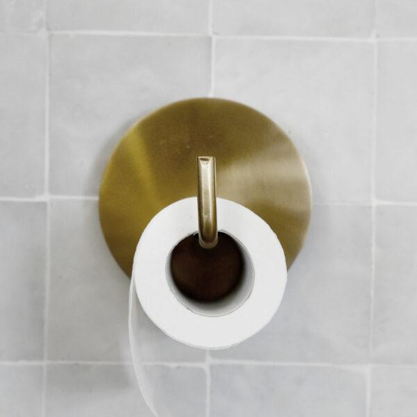 House Doctor toiletrolhouder brons