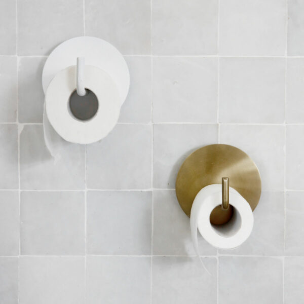 House Doctor toiletrolhouder brons