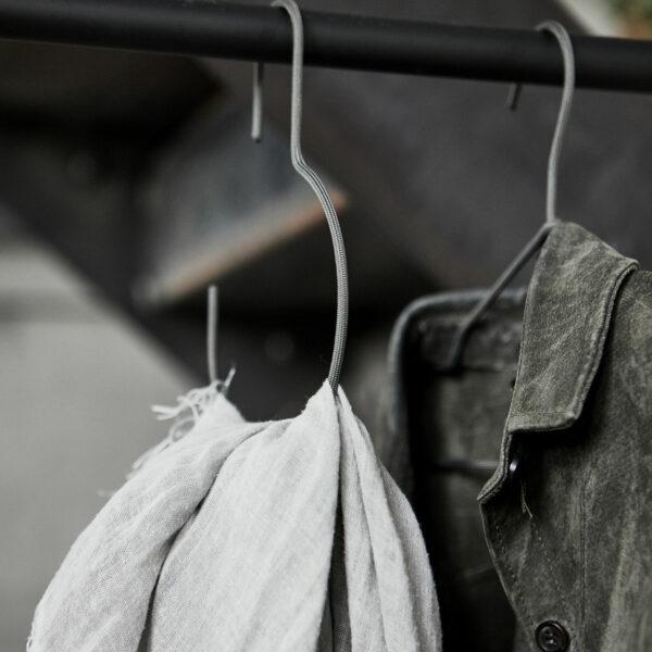 Ronde hanger donkergrijs