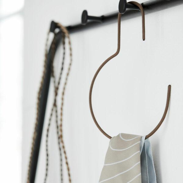 Ronde hanger bruin