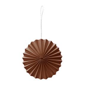 Decoratiehanger bruin