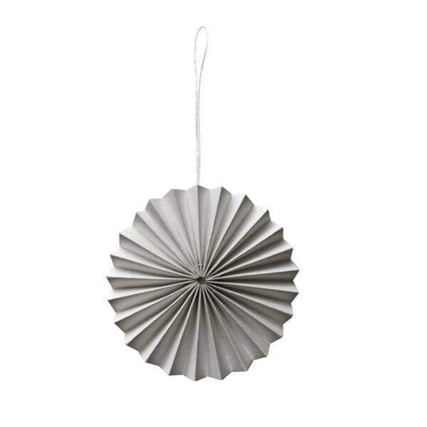 Decoratiehanger grijs