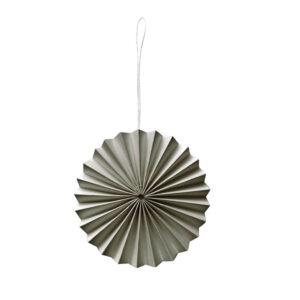 Decoratie hanger warm grijs