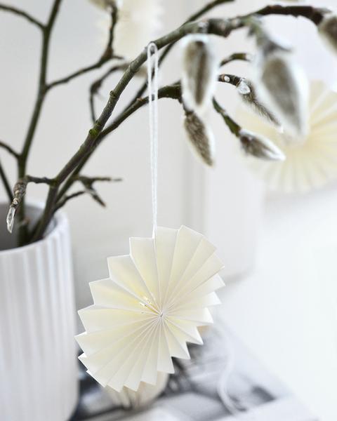 decoratie hanger offwhite