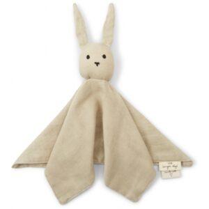 Knuffeldoek konijn beige