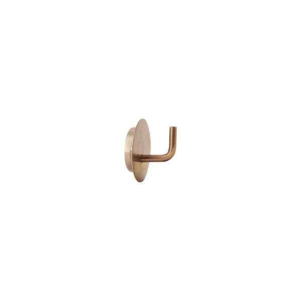 Opberghaak brass
