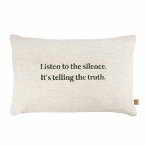 Zusss kussen silence beige