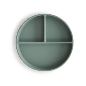 Mushie siliconen blue