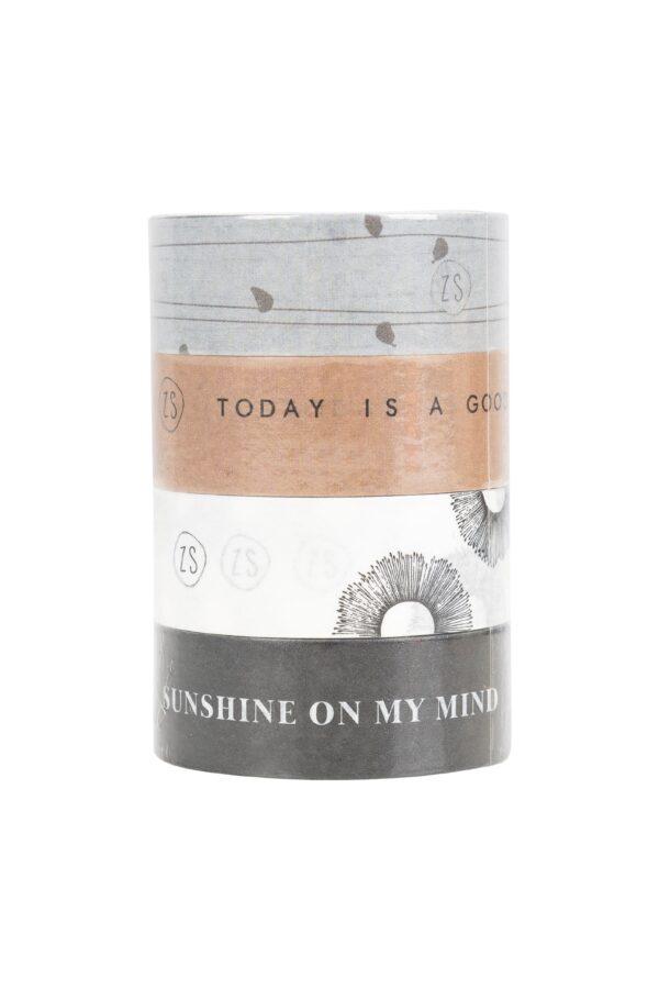Zusss masking tape sunshine