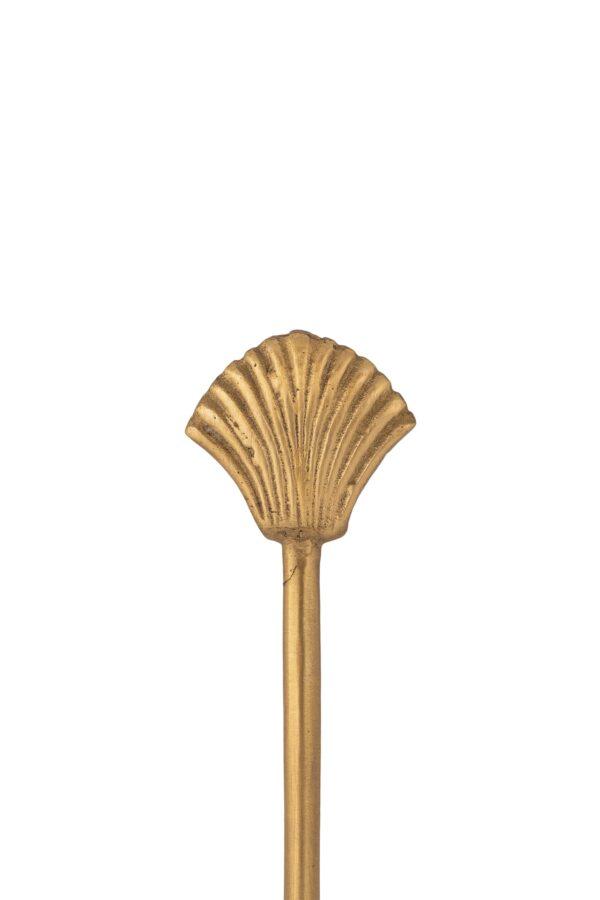 Zusss mesje schelp goud