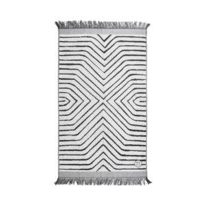 Zusss badhanddoek grijs