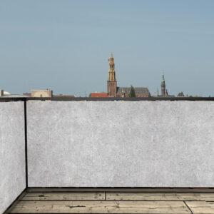 Balkonscherm beton look