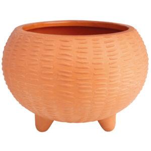 Räder terracotta bloempot