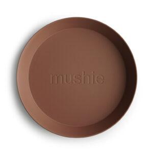 Mushie bordjes caramel