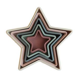 Mushie stapeltoren nesting starMushie stapeltoren nesting star