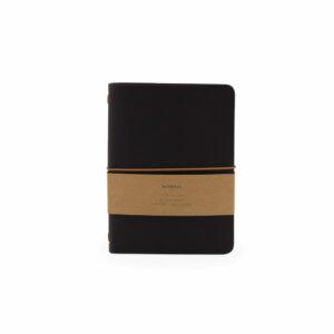 Monk and Anna notitieboek zwart