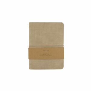 Monk and Anna notitieboek beige