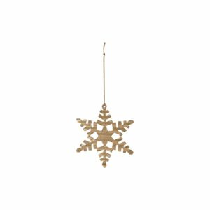 House Doctor ornament sneeuwvlokje