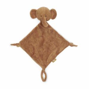 Jollein knuffeldoekje olifant caramel