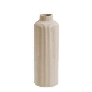 Storefactory vaas beige keramiek