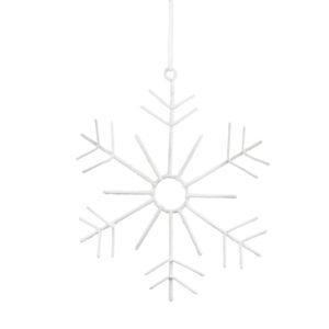 Storefactory ornament sneeuwvlokje