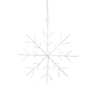 Storefactory kersthanger sneeuwvlok
