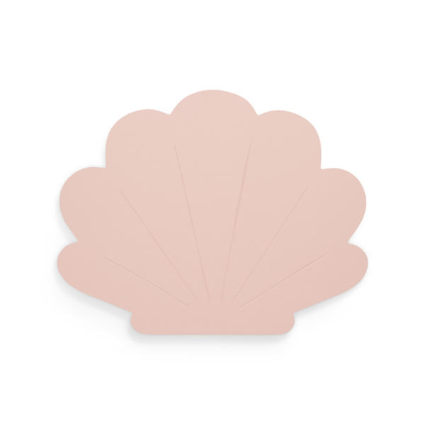 Jollein wandlamp schelp roze
